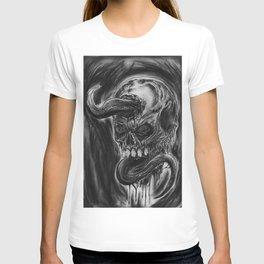 Charcoal Skull Of Death T-shirt