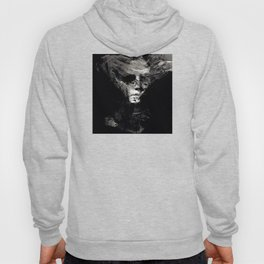 Abstract Ghost Black and White Hoody