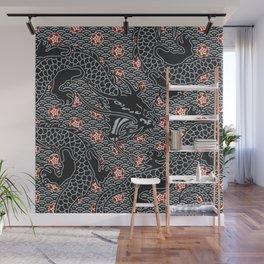 Hidden Dragon / Oriental dragon design Wall Mural