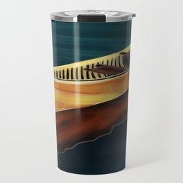 Canoe in Silence Travel Mug