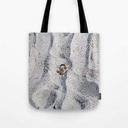 Lady in White Tote Bag
