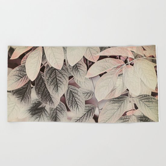 Touches of Pink Beach Towel