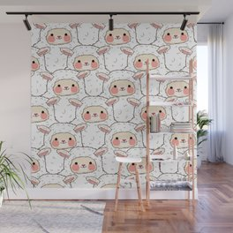 Who multiplied Lambie? Wall Mural