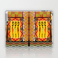 African Ornamental Pattern Laptop & iPad Skin