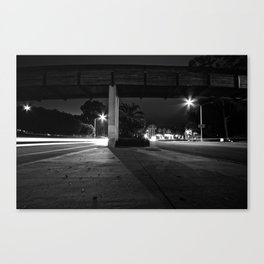 The Middle Of Two Ways Canvas Print