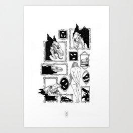 Salon des Refusés Art Print