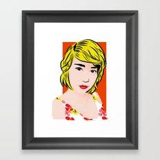 popart  Framed Art Print