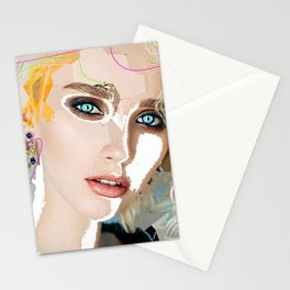 Woman N72 Stationery Cards