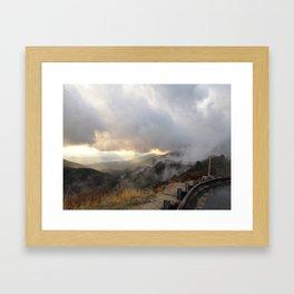 Outside Twin Peaks 5 Framed Art Print