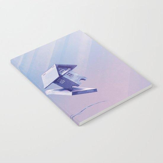 Freezing Bird...house Notebook