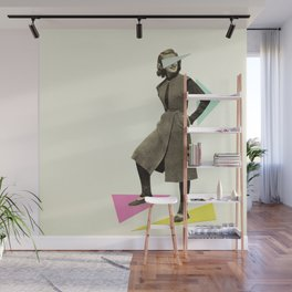 Shapely Figure Wall Mural