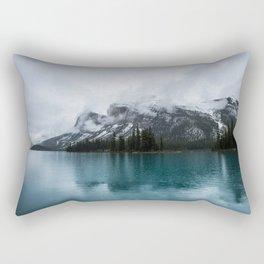Smokey Mountains Landscape Photography Alberta Rectangular Pillow