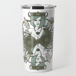 SINS Mentis - Envy Queen of Clubs Travel Mug