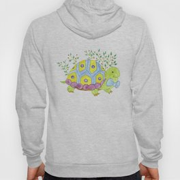 Colorful turtle Hoody