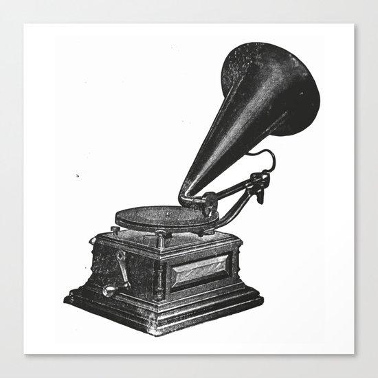 Gramophone 2 Canvas Print