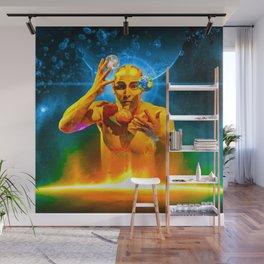 Cosmic Juggling Wall Mural