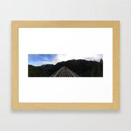 Vance Creek Bridge Framed Art Print