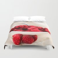 breakfast Duvet Covers featuring Breakfast by Donna M Condida