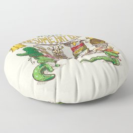 Awesome Hat Club Floor Pillow