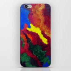 Autumn Abstract Painting iPhone & iPod Skin