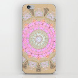 Lotus Blossom Mandala iPhone Skin