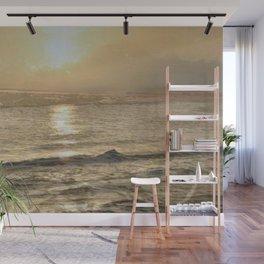 """"""" Golden Shore """" Wall Mural"""