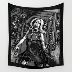 House of Zombies Wall Tapestry