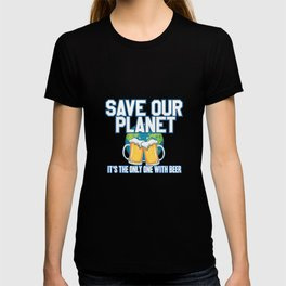Environmental Protection Beer T-shirt