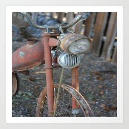 Bicicleta Art Print