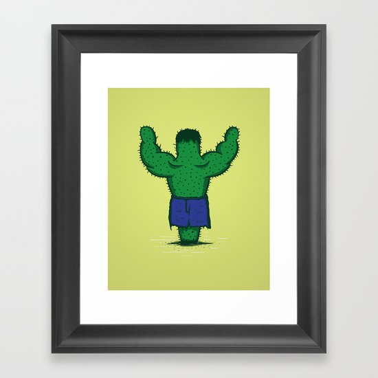 The Incredible Hulktus Framed Art Print