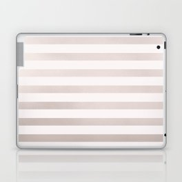Rose Gold and Pink Small Stripes Pattern Laptop & iPad Skin