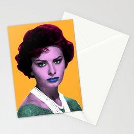 SOPHIA L O R E N POP ART Stationery Cards