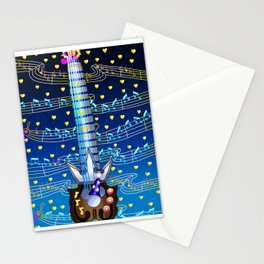 Fusion Keyblade Guitar #174 - Kingdom Key & Counterpoint Stationery Cards