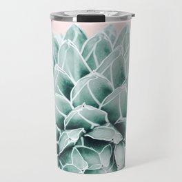 Succulent splendour - blush Travel Mug