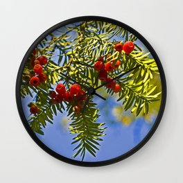 Conifer Wall Clock