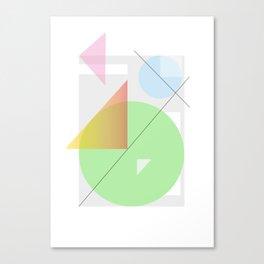 Geometric Calendar - Day 32 Canvas Print