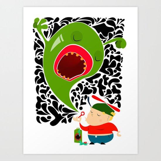 Blow for Kids Art Print