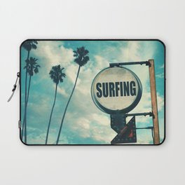 Surfing Sign Laptop Sleeve