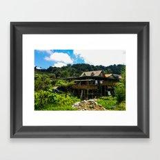 Cameron Highlands House Framed Art Print