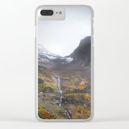 Going to the Sun Road Clear iPhone Case