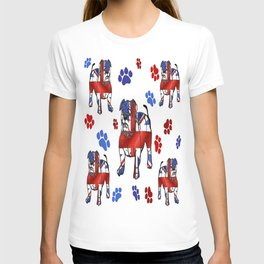 BRITISH BULLDOGS IN LONDON T-shirt