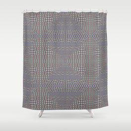 Fine Grain Quilt of Quilts Shower Curtain