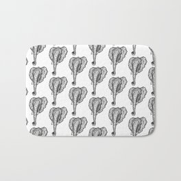 Elephant Mosaic Bath Mat