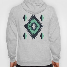Santa Fe Southwestern Native Indian Tribal Geometric Pattern Hoody