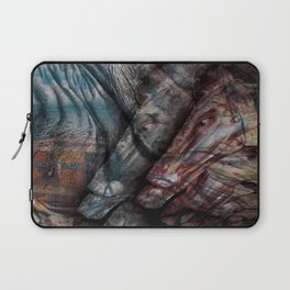 Close Your Eyes, You'll Be Better Off. Laptop Sleeve