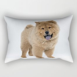 Chow Chow Puppy Rectangular Pillow