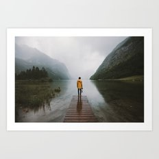 Mountain Lake Vibes - Landscape Photography Art Print