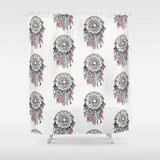 Dream Big dreamcatcher art decor poster dorm college kids children  Shower Curtain