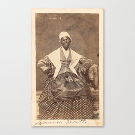 Sojourner Truth Vintage Photo, 1863 Canvas Print