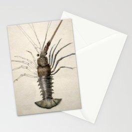 Vintage Lobster Artwork Stationery Cards